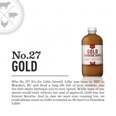 Lillies Q Gold BBQ Sauce