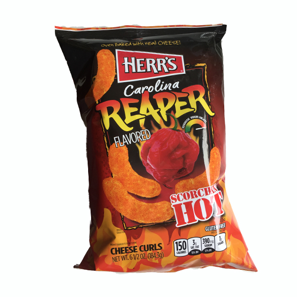 Herrs Baked Reaper Cheese Curls Large Pack