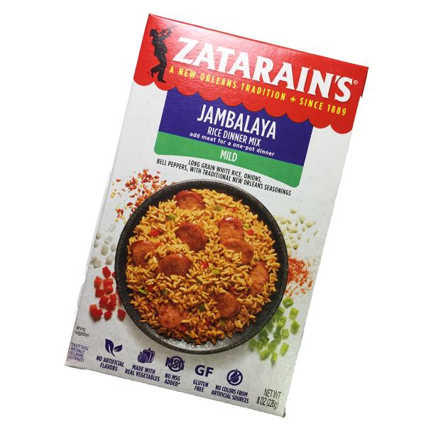 Zatarains Jambalaya Rice Dinner