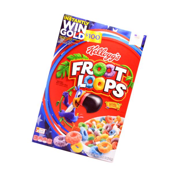 Kelloggs Froot Loops - USA Ware