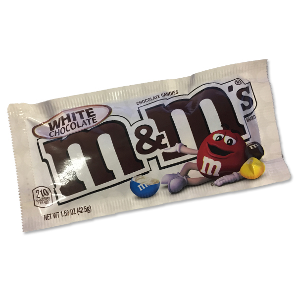 M&Ms Peanut White Chocolate