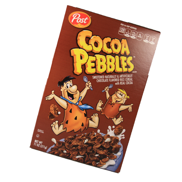 Post Cocoa Pebbles Cerealien