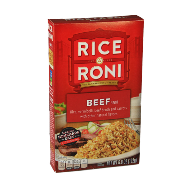 Rice A Roni Beef