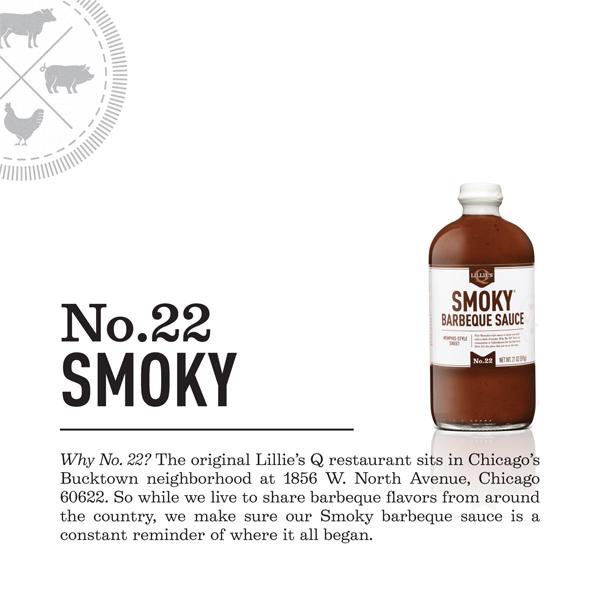Lillies Q Smoky BBQ Sauce