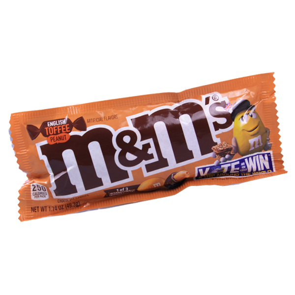 M&Ms English Toffee Peanut