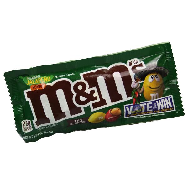 M&Ms Mexican Jalapeno Peanut