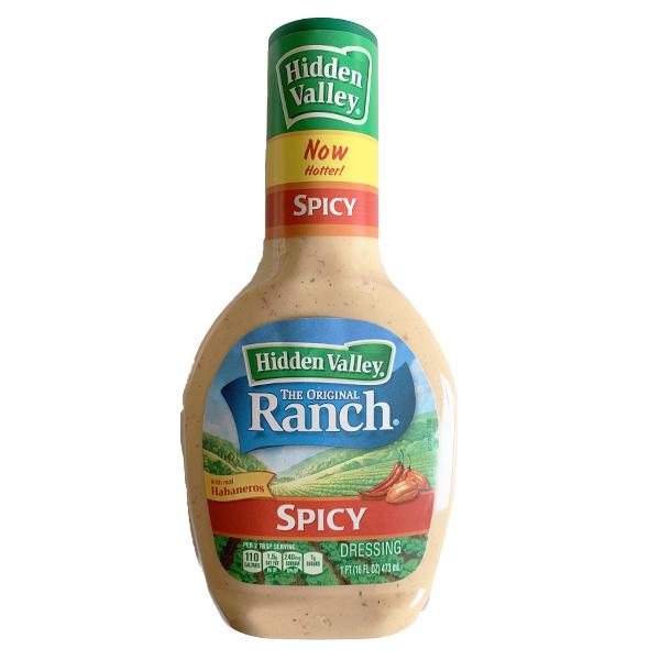 Hidden Valley  The Original Ranch  Spicy Dressing - Big