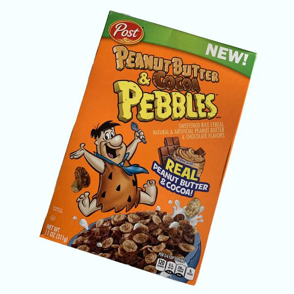 Post Peanut Butter & Cocoa Pebbles Cerealien