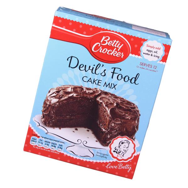 Betty Crocker Devils Food Cake