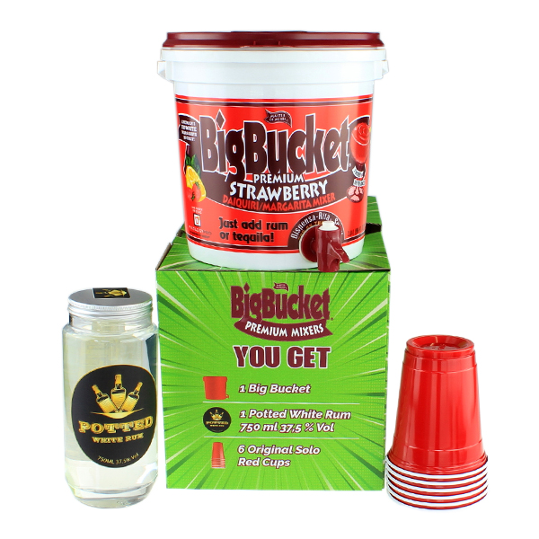 Big Bucket Strawberry Mixer - Party Pack