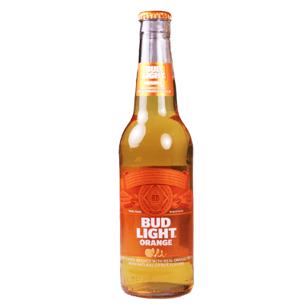 Bud Light Beer Orange