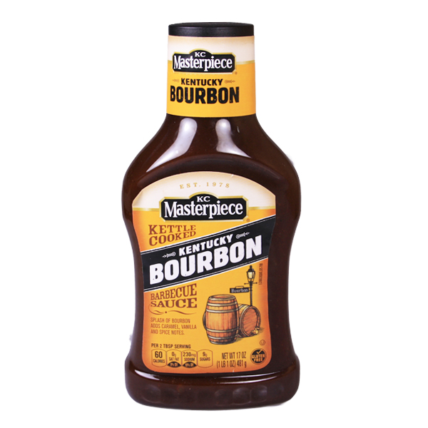 KC Masterpiece Kentucky Bourbon BBQ Sauce