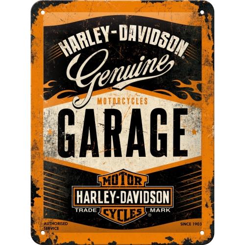 Nostalgic Art Harley Davidson Garage Blechschild 15x20 cm