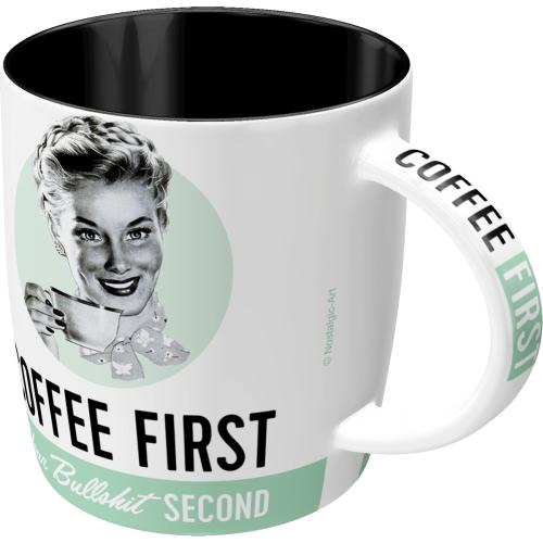 Nostalgic Art Coffee First Tasse