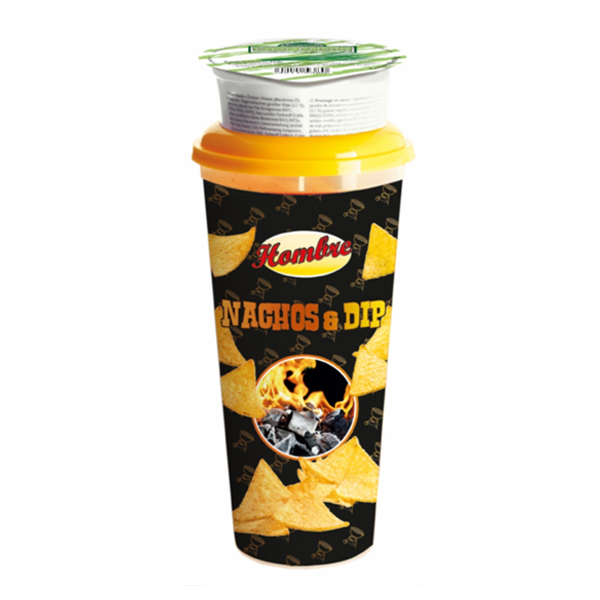 Hombre Nachos & Dip Sour Cream