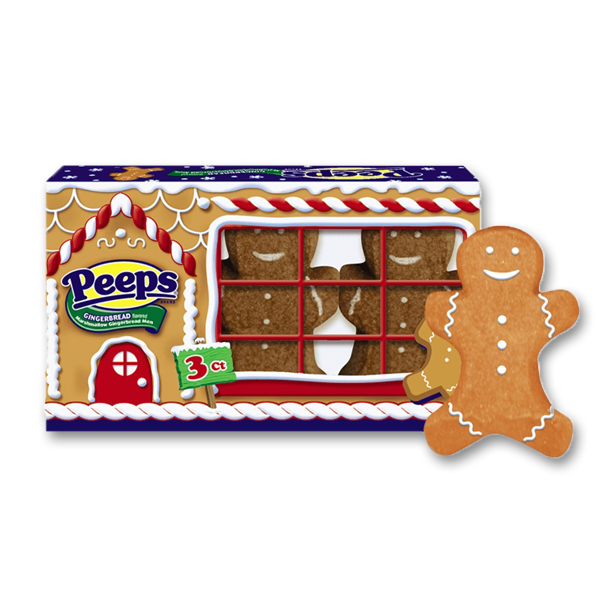 Peeps Marshmallow Gingerbread
