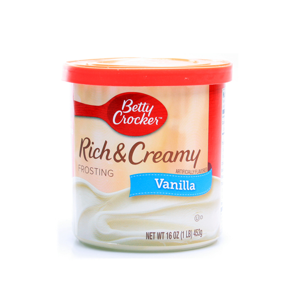 Betty Crocker Rich Creamy Vanilla Frosting