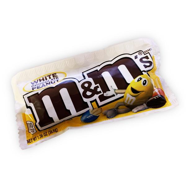 M&Ms White Chocolate Peanut