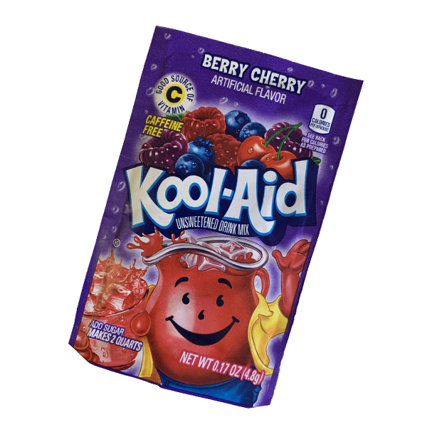 Kool Aid Drink Mix Berry Cherry Tüten