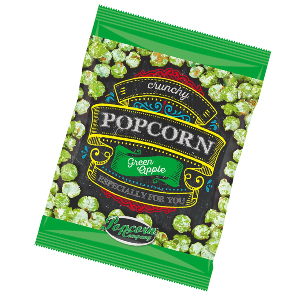 Crunchy Popcorn Green Apple