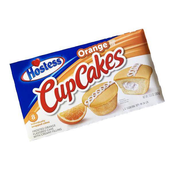 Hostess Cupcakes Orange - 8er Pack