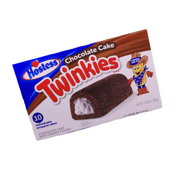 Hostess Twinkies Chocolate Cake - 10er Pack