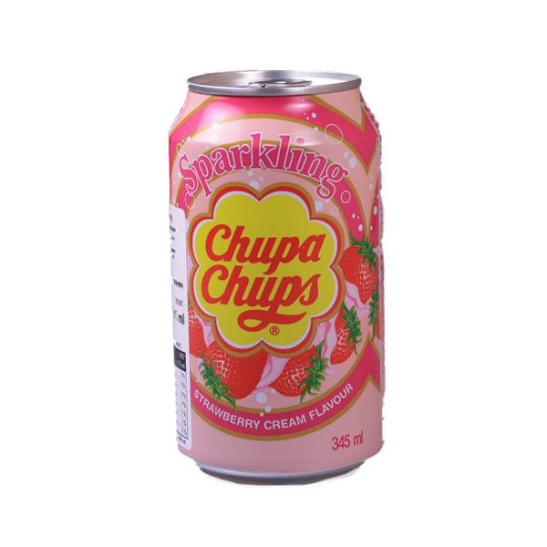 Chupa Chups Strawberry Drink