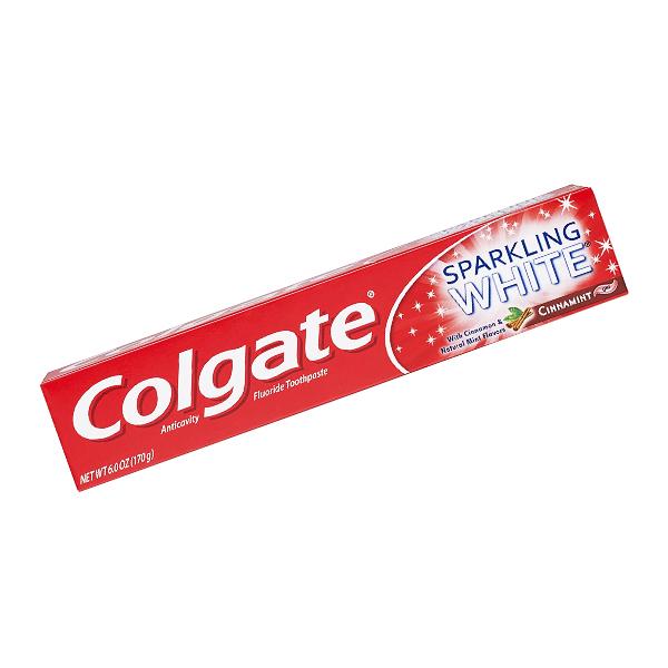 Colgate Sparkling White Cinnamint