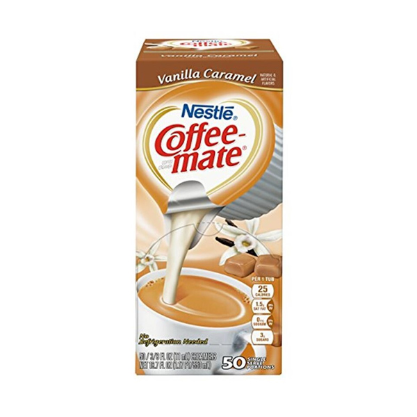 Nestle Coffee Mate Vanilla Caramel 50er Box