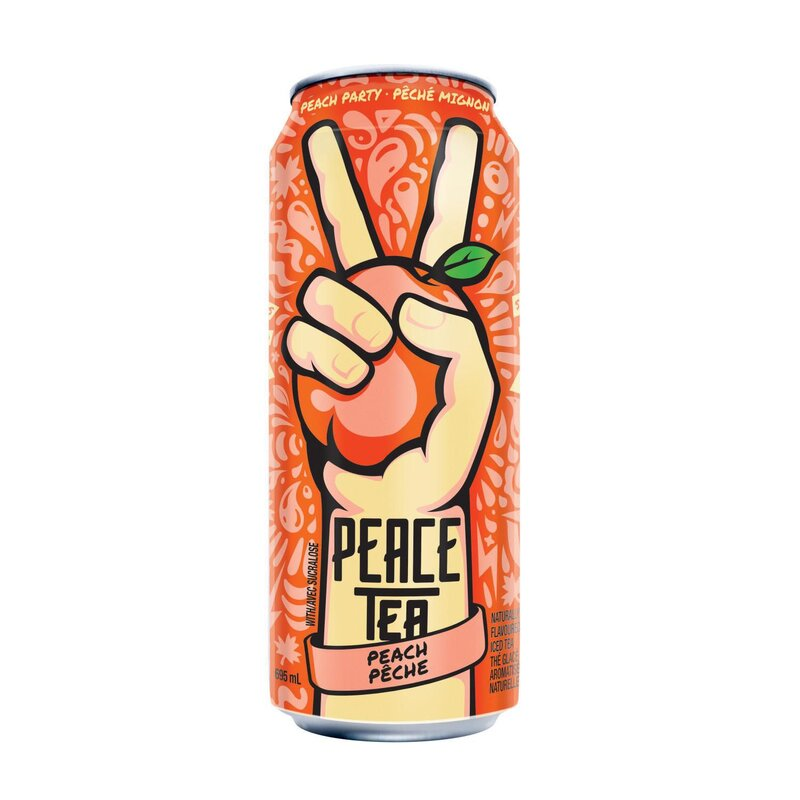Peace Tea Peach Party