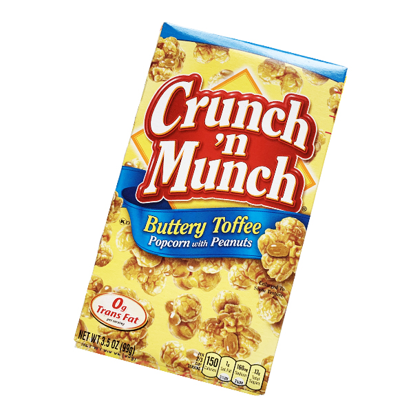 Crunchn Munch Buttery Toffee Popcorn