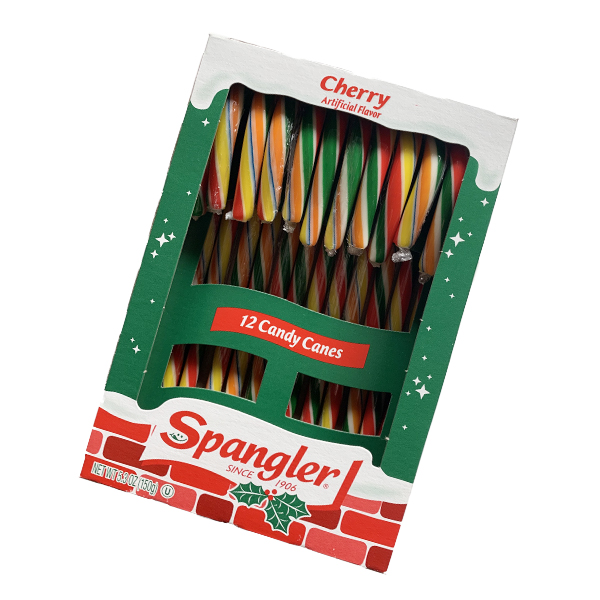 Spangler Candy Canes - Cherry 12er Pack