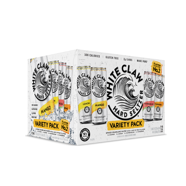 White Claw Hard Seltzer Flavor Collection No. 2