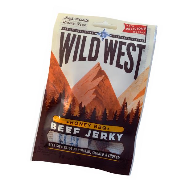 Wild West Beef Jerky Honey BBQ