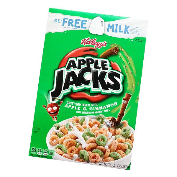 Kelloggs Apple Jacks Cereal