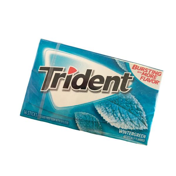 Trident Wintergreen Gum
