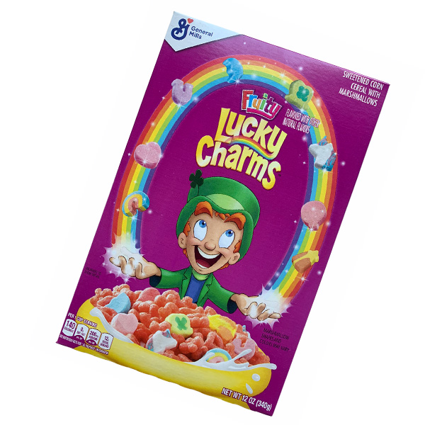 Lucky Charms Fruity Cereal with Marshmallows