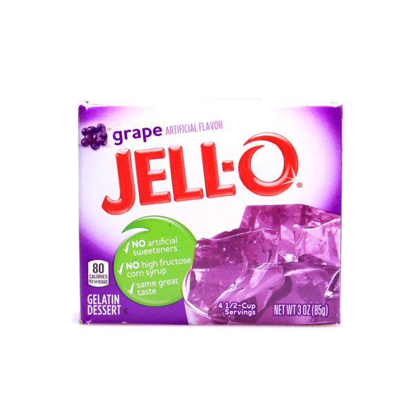 JELLO- Gelatin Dessert Grape