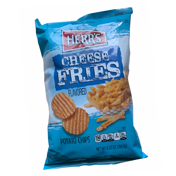 Herrs Cheese Fries Flavored Chips Large Pack