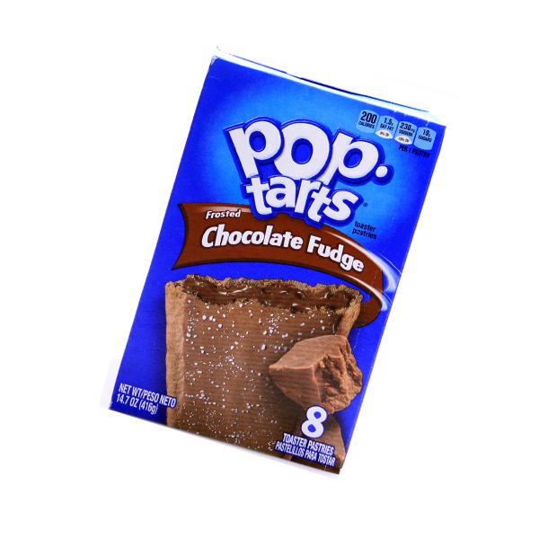 MHD 26.08.21 Kelloggs Pop-Tarts frosted Chocolate Fudge