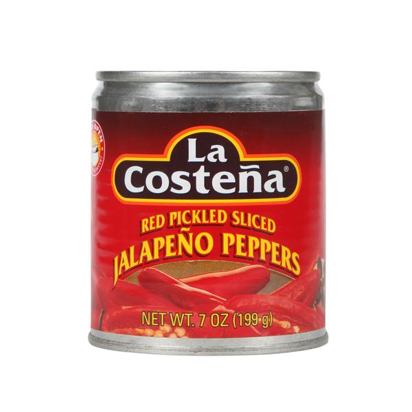 La Costena Red Sliced Jalapeno