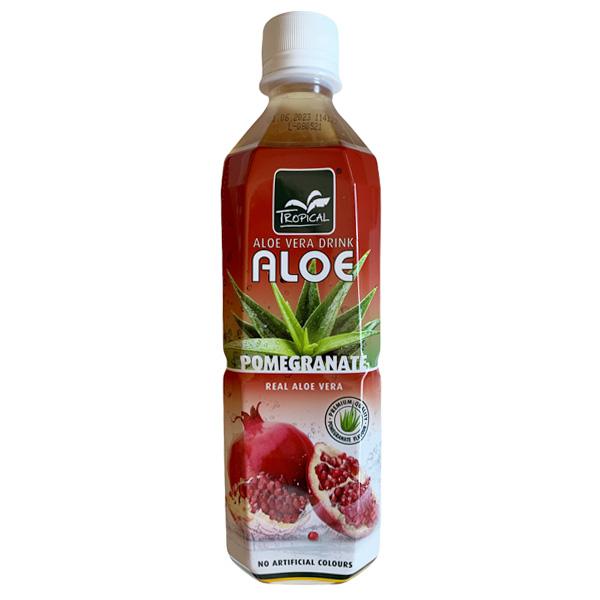 Tropical Aloe Vera Pomegranate Drink