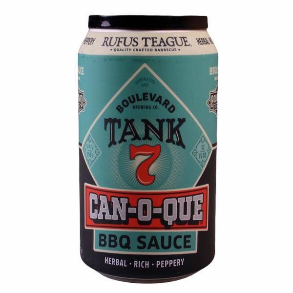 Rufus Teague Can-O-Que Tank 7 BBQ Sauce