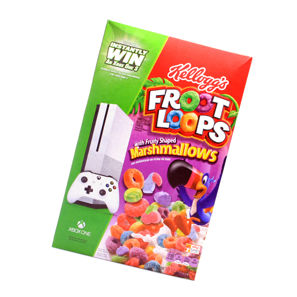 Kelloggs Froot Loops mit Marshmallow - USA Ware