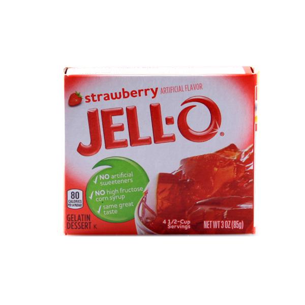 JELLO- Gelatin Dessert Strawberry