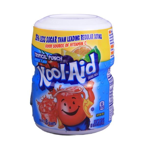 Kool Aid Barrel Tropical Punch - Getränkepulver