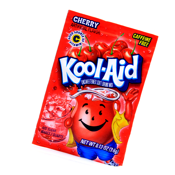 Kool Aid Drink Mix Cherry Tüten