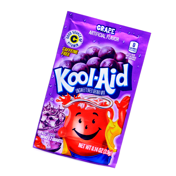Kool Aid Drink Mix Grape Tüte