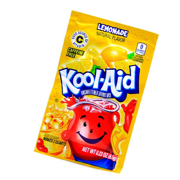 Kool Aid Drink Mix Lemonade Tüten