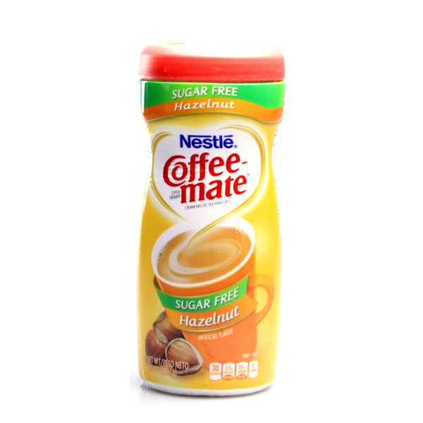 Nestle Coffee Mate Hazelnut sugar free
